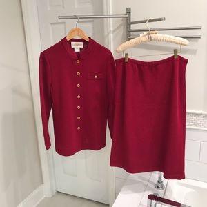 Vintage Castleberry Jacket & Skirt Sz 14